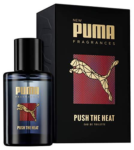 Heat Parfum (Puma Eau de Toilette Natural Spray Vaporisateur Push The Heat , 50 ml)