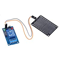 Vanpower 12V Raindrop Leaves Humidity Sensor Relay Module Switch for Arduino