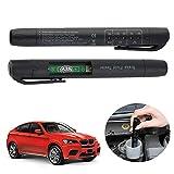 Outtybrave Bremsflüssigkeitsprüfer, Erkennungsstift, LED-Indikator für DOT 3/4/5, Flüssigkeit Feuchtigkeit, Wassertester