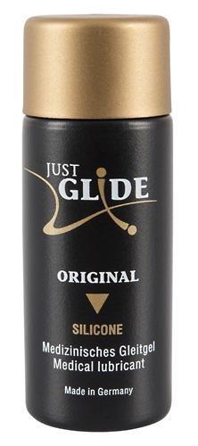 Just Glide silikonbasiertes Gleitgel 200 ml - Gleitmittel auf Silikonbasis für lang anhaltende Gleitfreuden beim Liebesspiel