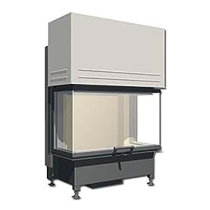 SCHMID cheminée factice eKKO u 84 (34) heizeinsatz cheminée insert 10,5 kW
