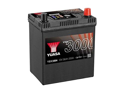 Yuasa YBX3054 Batería de coche SMF Starter recargable 12V 40Ah 330A
