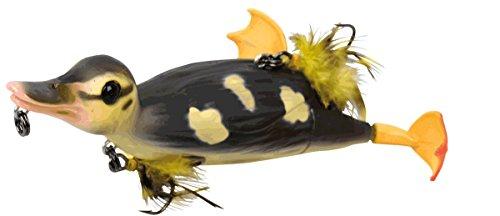 Savage Gear 3D Suicide Duck Wobbler Ente, Entenköder, Angelköder für Hecht, Hechtköder, Enten Jerkbait, Welsköder, Wallerköder, Farbe:Natural;Länge / Gewicht:15cm - 70g