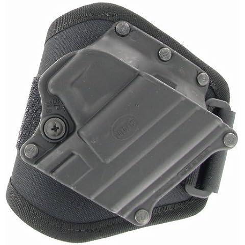 Fobus Conceal carry per caviglia Mini Springfield XD XDM HS/2000/Taurus PT609 24 PT, titanio, 7/9 & 40 mm.