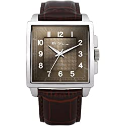 BEN SHERMAN Herren-Armbanduhr GENTS WATCH Analog Kunststoff Braun BS028