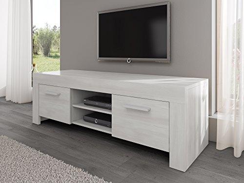 Opiniones mueble para tv mueble roma roble blanco 160 cm - Muebles banak opiniones ...