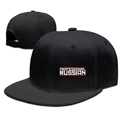 Feruch FPS Russia-Professional Russian Logo Baseball Cap Black (Math Baseball-cap)