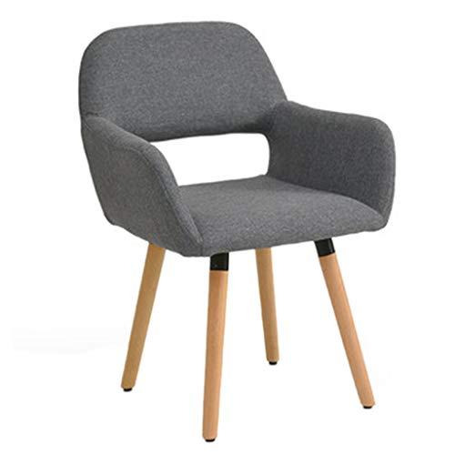 Stühle Computer Hause Studie Tisch Bürostuhl Study Chair Spiel Esports Geschenk (Color : Gray, Size : 79 * 42 * 40cm) -