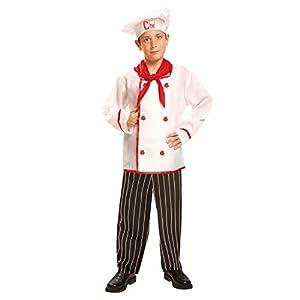 My Other Me Me-200958 Disfraz de cocinero para niño, 7-9 años (Viving Costumes 200958)