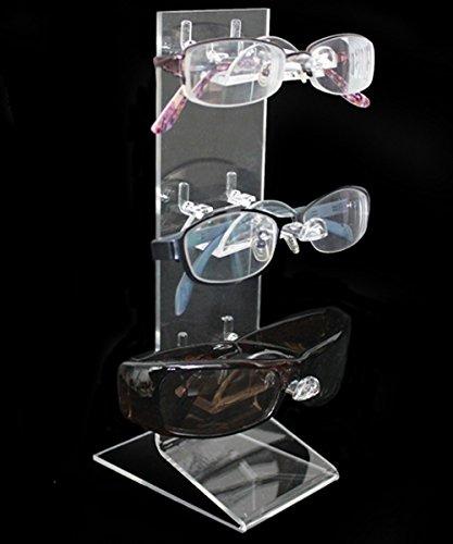 Acryl Brillenständer Brillendisplay für Brillen Brillenhalter (3er)