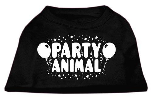Mirage Pet Products Party Animal Screen Print Shirt Black XXXL (20) -