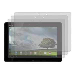 3x kwmobile film de protection pour écran MAT et ANTI-REFLETS avec effet anti-traces de doigts pour Asus Transformer Pad TF701T. QUALITÉ SUPÉRIEURE