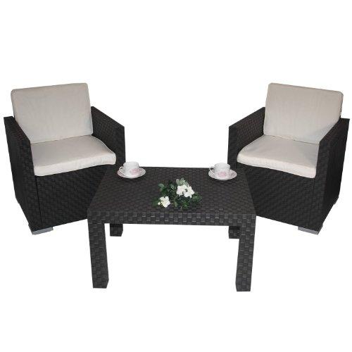 Gartenmöbel Kissen (4tlg. Auflagenset f. Sitzgruppe Rio Polster Kissen Auflage Polsterset Kissenset)