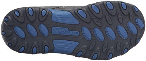 Merrell Jungen Trail Chaser Trekking-& Wanderhalbschuhe Grau (Grey/Blue/CitronGrey/Blue/Citron)