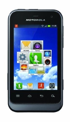 Motorola Defy mini Smartphone (8,1 cm (3,2 Zoll) HVGA-Touchscreen, 3 Megapixel Kamera, Android 2.3) schwarz