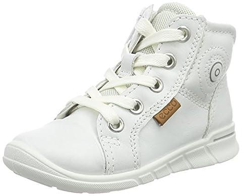 Ecco ECCO FIRST, Unisex Baby Lauflernschuhe, Weiß (WHITE01007), 25 EU (7.5 Baby UK)