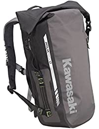 'Kawasaki Ogio todos los elementos impermeable mochila/mochila Messenger deporte. Nuevo. Negro Gris por bikerworld