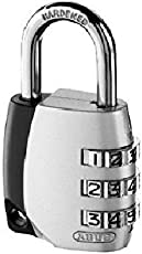 Lukzer 3 Dial Resettable Combination Pad Lock for Lockers, Suitcase, Luggage,Laptop Bag and for Many use.