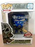 Funko Fallout Pop Vinyl Figure - T-51 Vault-Tec Power Armor Exclusive Blue Version
