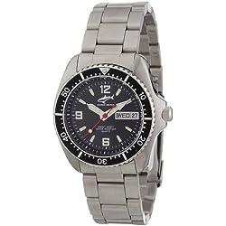 Chris Benz Men's Quartz Watch CBM.S.MB.SW with Metal Strap