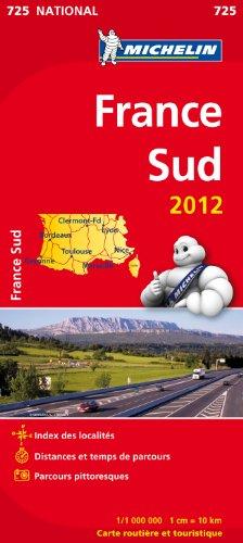 Carte NATIONAL France Sud 2012