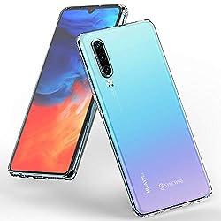 Syncwire Huawei P30 Hülle, Huawei P30 Anti-Gelb Ultradünn Handyhülle Stoßdämpfend Case, Einteilige Schutzhülle mit Fallschutz-Technologie für Huawei P30, Transparent