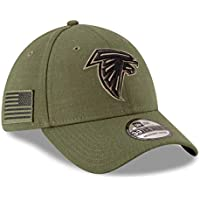 hot sale online 6ab46 618de New Era Atlanta Falcons NFL 2018 Salute To Service 39THIRTY Cap