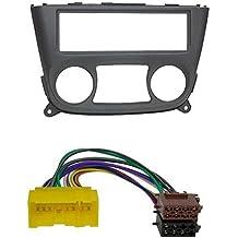 Baseline Connect - Set para instalación de radio para Nissan Almera N16, color negro