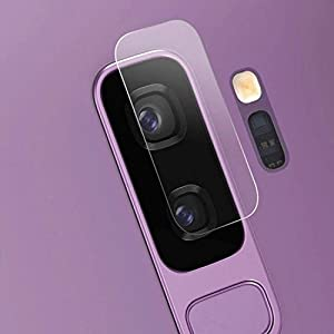 CELLBELL Samsung Galaxy S9 Plus-Camera Lens Protector Tempered Glass Screen Protector with Installation Kit