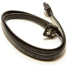 SATA 3 Cerradero Clavija A Derecho ángulo Clavija 6GB Alto Velocidad Cable Cable 50 cm
