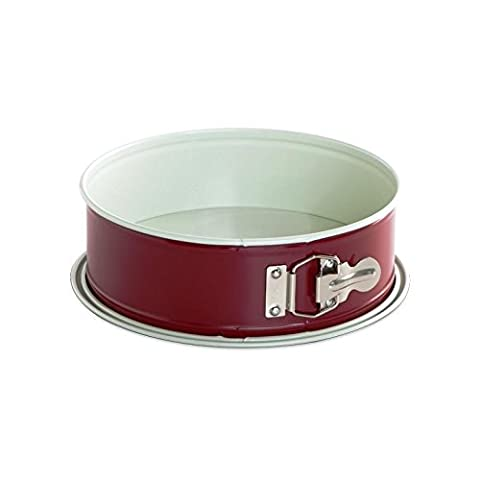 Nordic Ware Leak Proof Springform Pan, 10-Cup, 9-Inch, Red by Nordic Ware