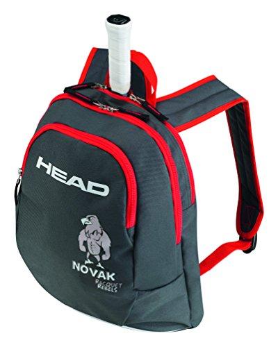 HEAD Kids Backpack Novak Rucksack, Schwarz, 68 x 40 x 20 cm