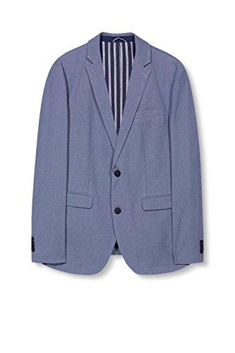 ESPRIT Collection Herren Sakko Blau (Blue 430)