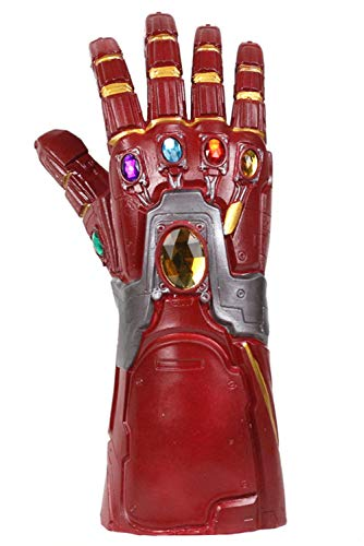 Avengers Endgame Iron Man Infinity Gauntlet Novelty Latex Halloween Karneval Fasching Kostüm Party Cosplay (Iron Man Halloween)
