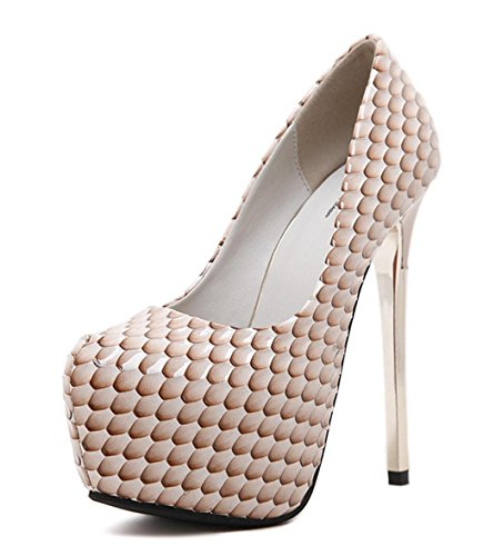 DZW Womens Stiletto Diamante Party Evening Court Shoes Chaussures à talons hauts Personnalité