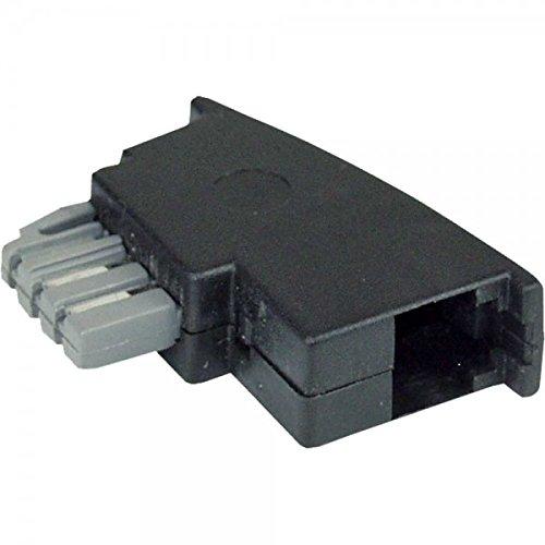 Preisvergleich Produktbild InLine TAE-N Adapter - TAE-N Stecker auf RJ11 Buchse 6P4C,  69941