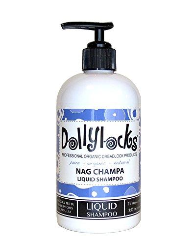 Shampoing liquide Dollylocks pour drealocks - Nag Champa - 355 ml