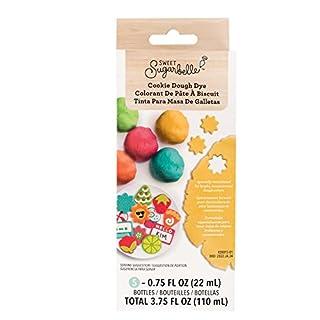 American Craft Sweet Sugarbelle Cookie Dough Dye - 5 Bottles, 0.75 FL. oz - Assorted Colors