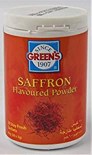 Green's Saffron Flavour Powder, 60g - Pack