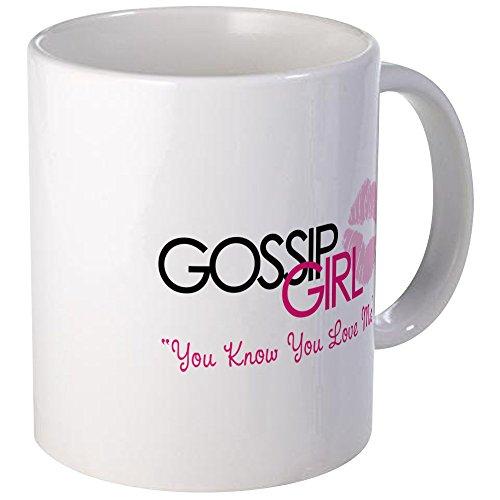 cafepress unique Tasse Gossip Girl - S Blanc, Céramique, Blanc, s