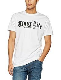 09d9a7c7aeb Mister Tee Men s Thug Life Old English T Shirt