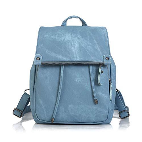 SPFBAG Moderner, einfacher und Unisex Rucksack in mit einem klassischen Design im- perfekt für 13-Zoll-Laptops-Blau