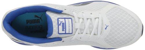 Puma - Descendant v1.5, Scarpe da corsa Uomo Bianco (Weiß (white-insignia blue 04))