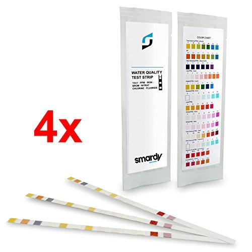 smardy® 12x ULTRA Test En Bandelettes 13 EN 1 test de la dureté de l'eau