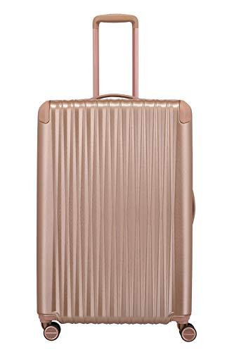 "TITAN Exklusive Eleganz: Gepäckserie ""BARBARA Glint"" Koffer, 77 cm, 100L, Rose Metallic"