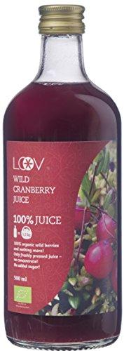 Loov Organischer Saft Wilde Moosbeere 500 ml