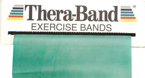 Thera-Band Übungsband 45,5 m, stark/grün -