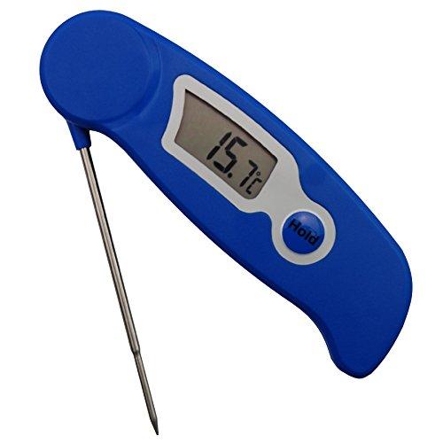 Preisvergleich Produktbild Kerzenherstellung Thermometer Digitalthermometer – Ideal Werkzeug für Kerze Makers für Melting Soja und Paraffin Wachs – Edelstahl Sonde leicht zu lesen Display