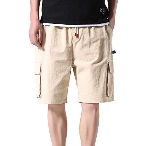 Herren Freizeithose Outdoor Freien Taschen Hose Arbeitshose Strand Hose Baggy Beach Shorts Amoyl