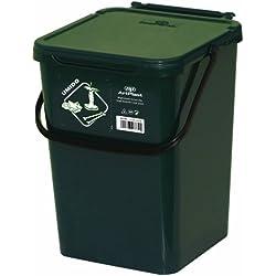 Art Plast BS10/V Cassonetto da 10 litri per la raccolta differenziata in plastica, verde